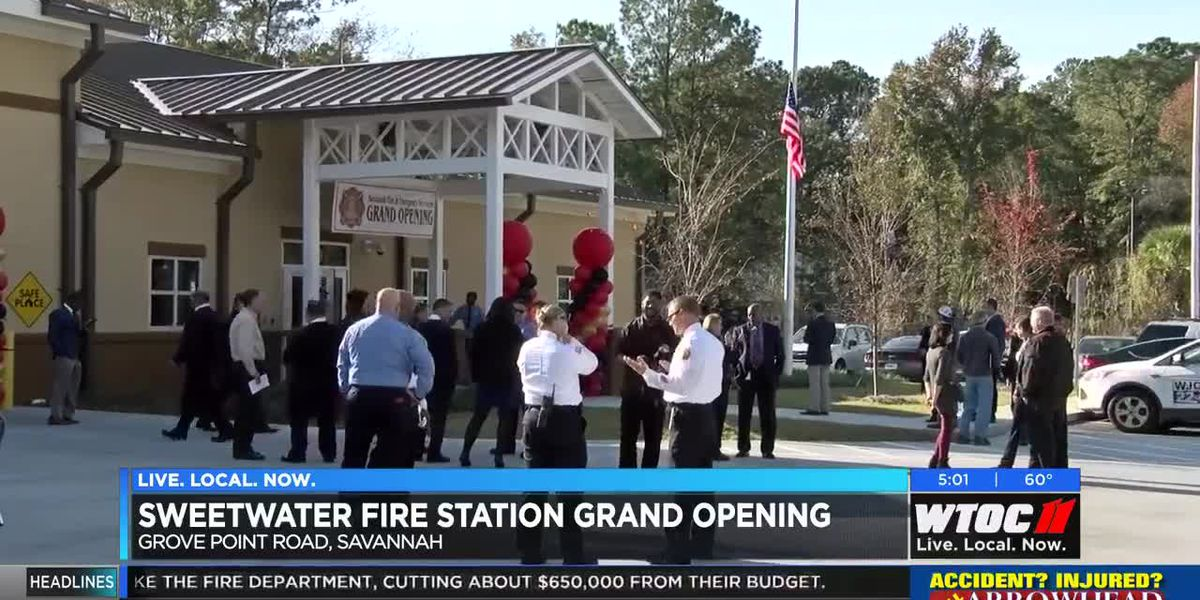 Savannah Fire opens Sweetwater Fire Station
