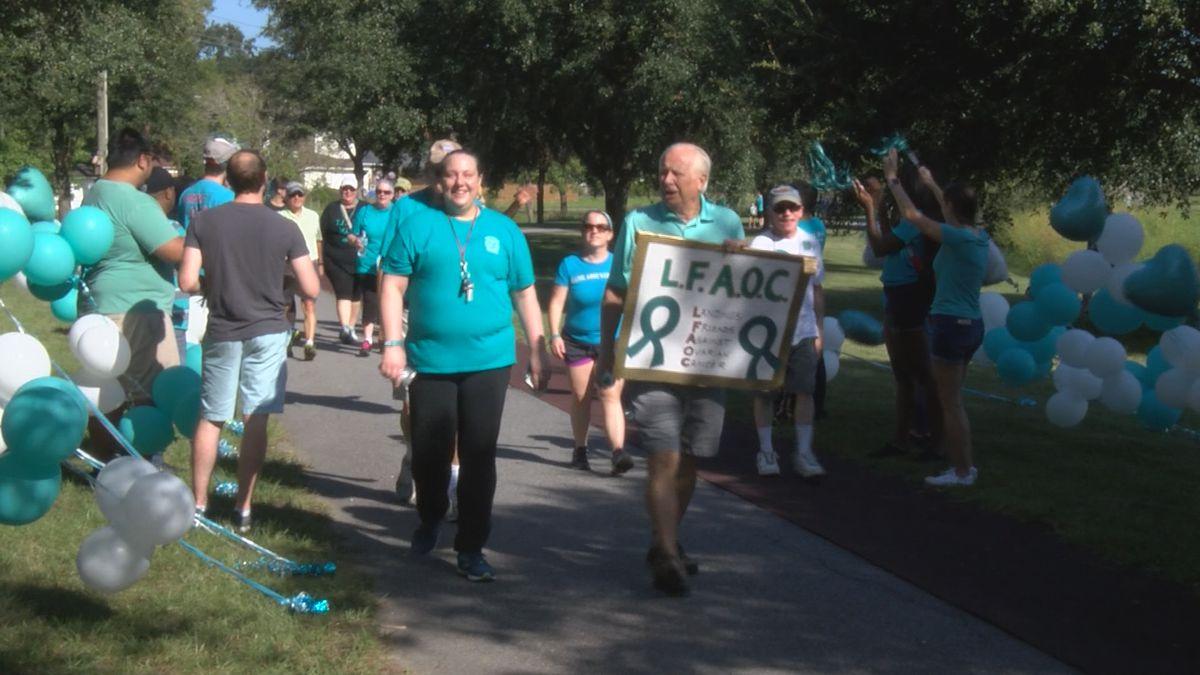 5th annual T.E.A.L. walk remembers ovarian cancer victims