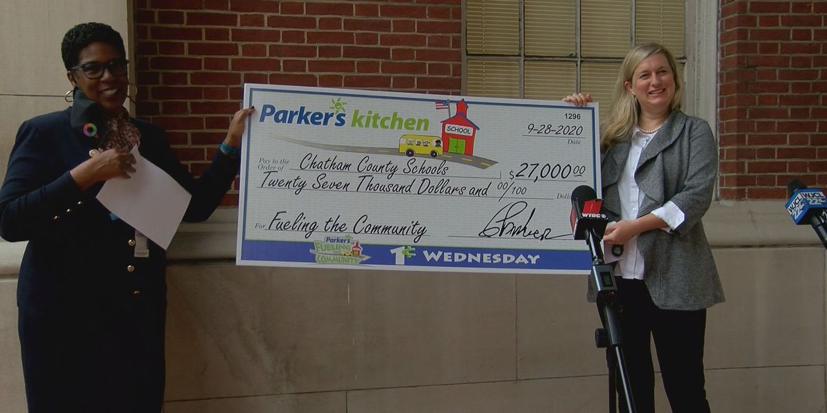 Parker's gives large donation to the Savannah-Chatham County Public School System