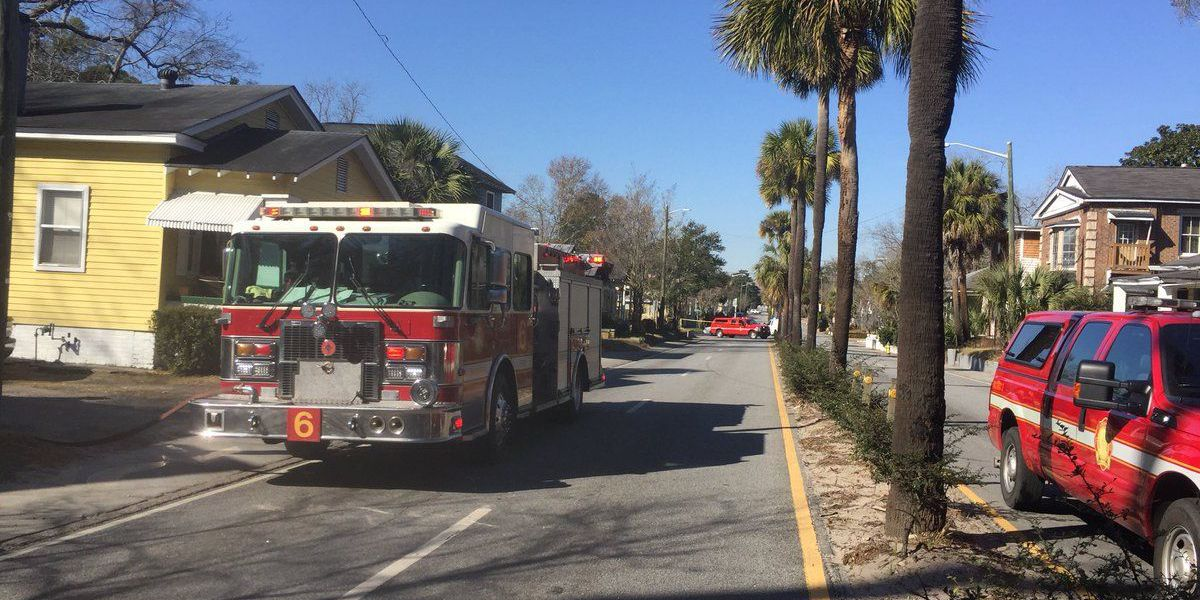 Victory Drive back open after natural gas leak
