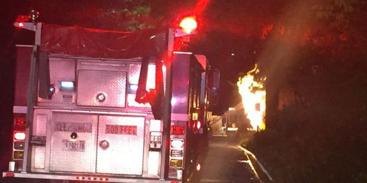 Gas leak causes structure fire on W 47th St.