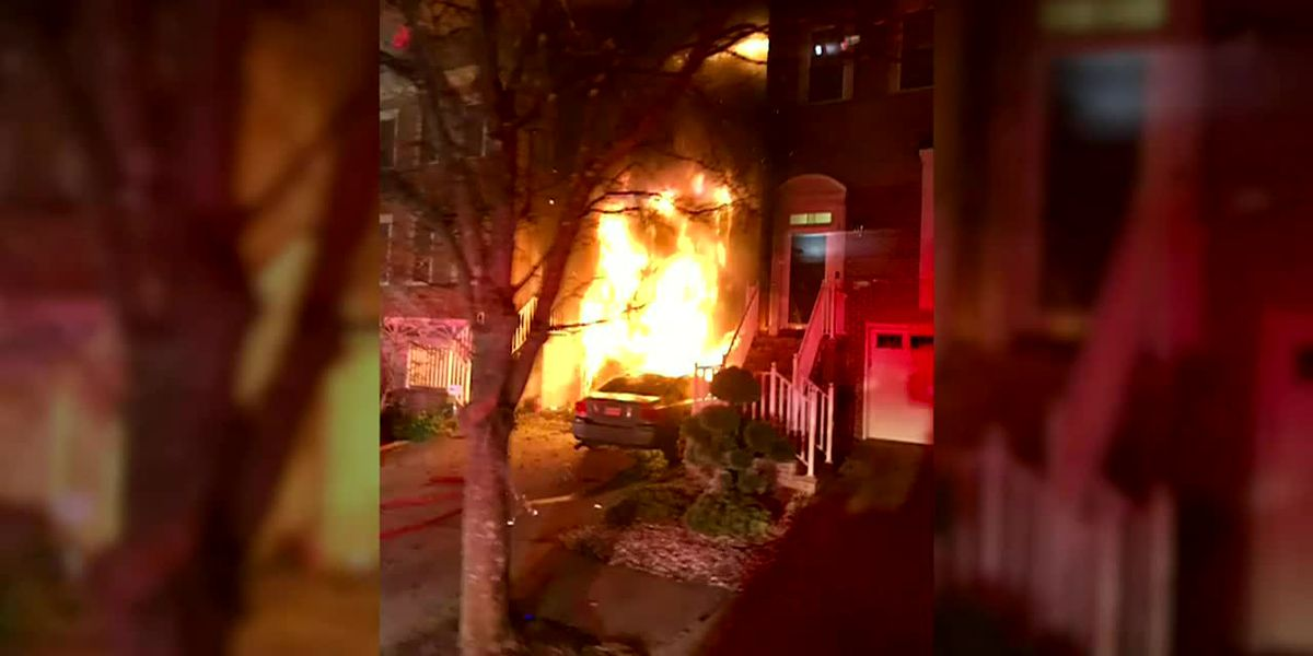 Neighbor helps Md. couple, twin grandchildren escape house fire