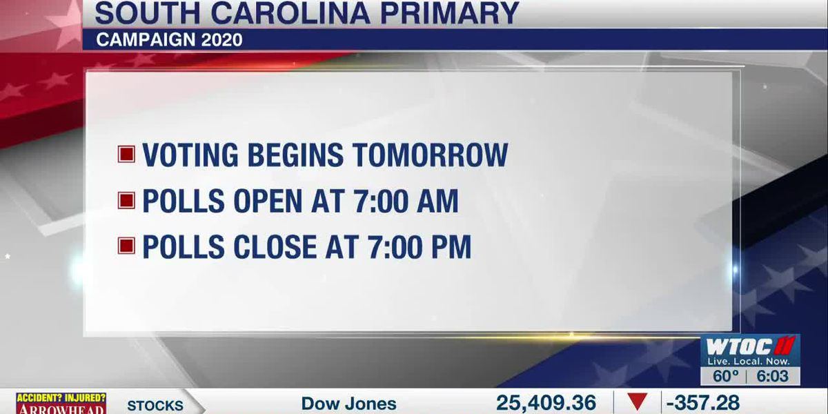 South Carolina Primary this Saturday
