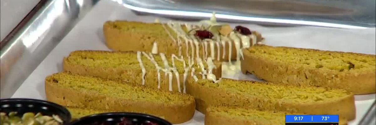 Cooking with Daniel Reed Hospitality: Pumpkin Biscotti