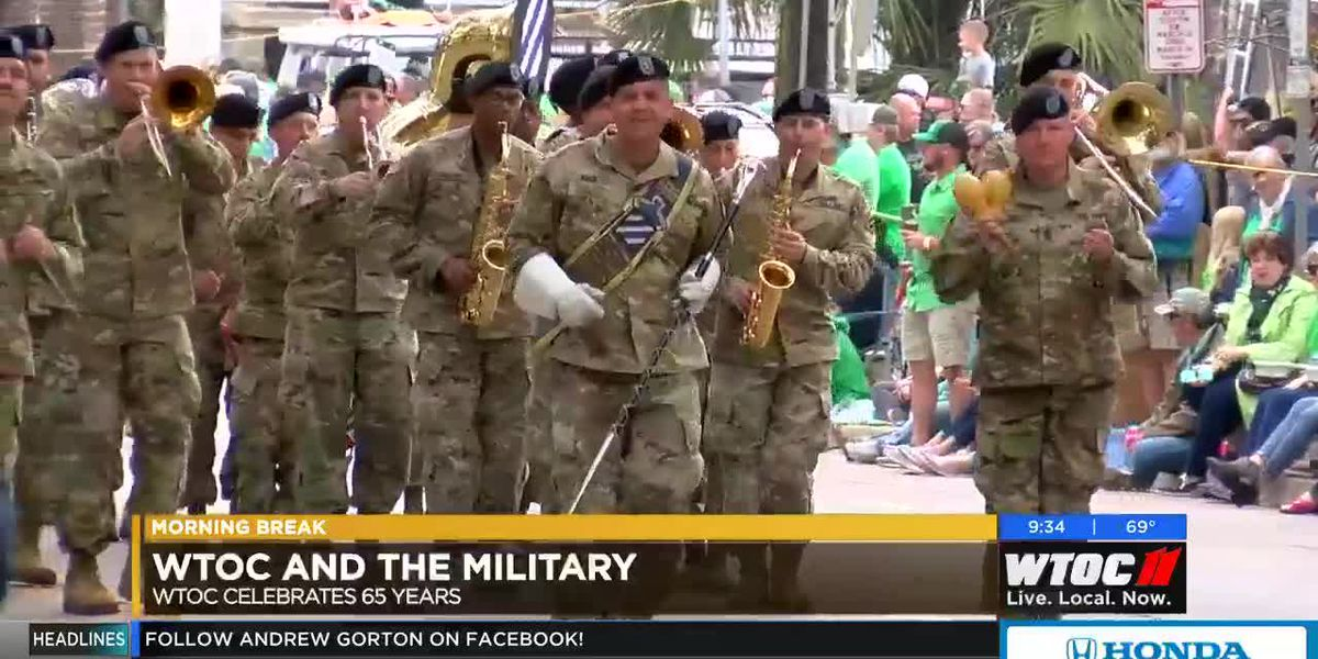 Celebrating 65 Years: WTOC and the military