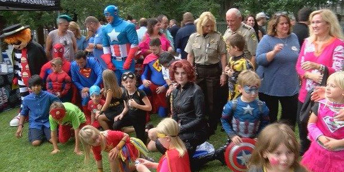 Good News: Ronald McDonald House hosts Superhero party