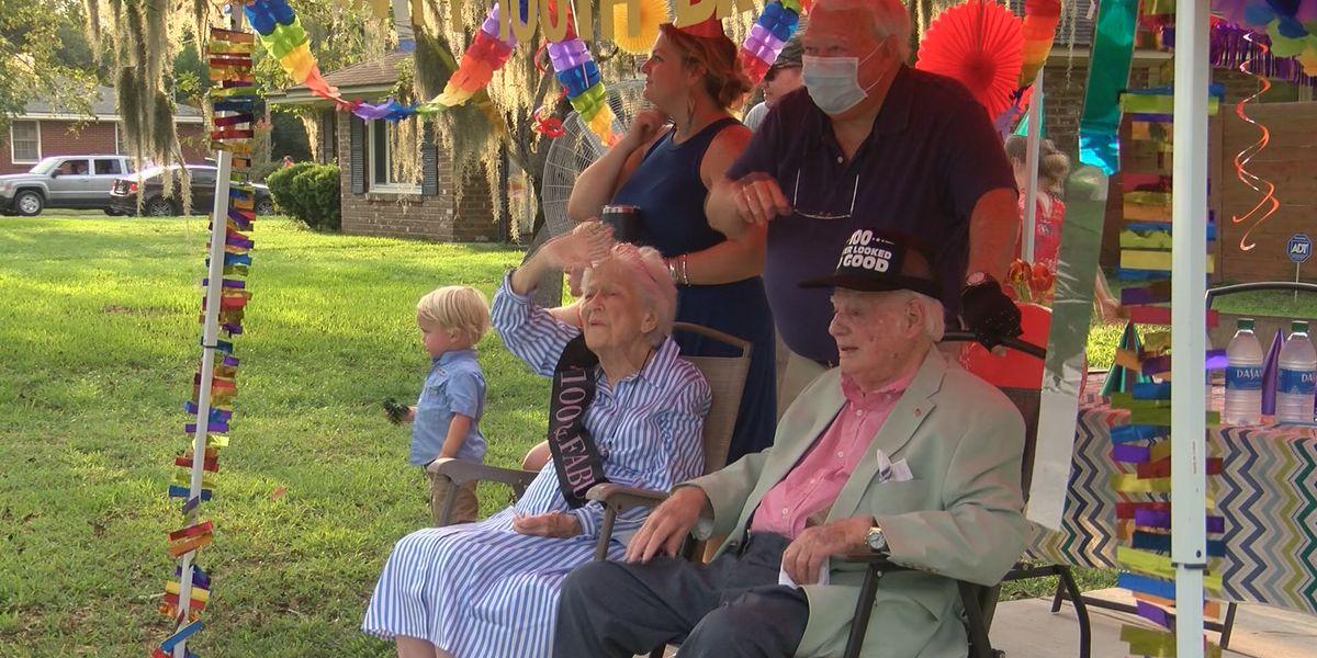 Savannah couple celebrates 100th birthdays