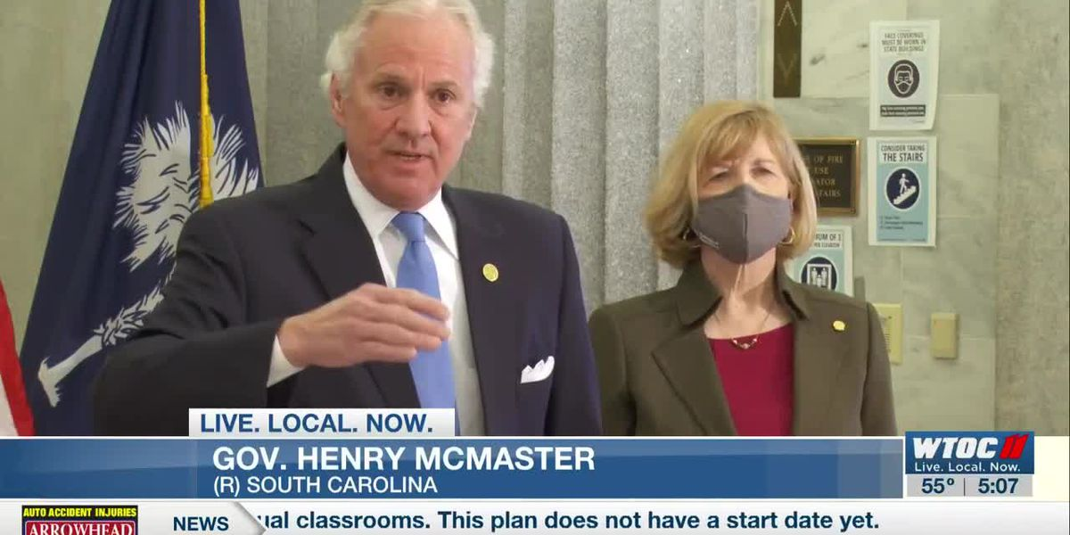 S.C. governor says state working on getting vaccines to teachers, school staff