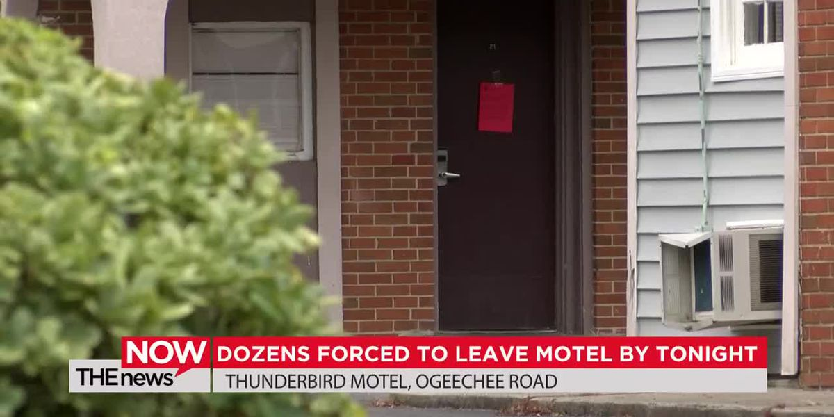 Dozens have been forced to leave the Thunderbird Motel in Savannah because of health code violations