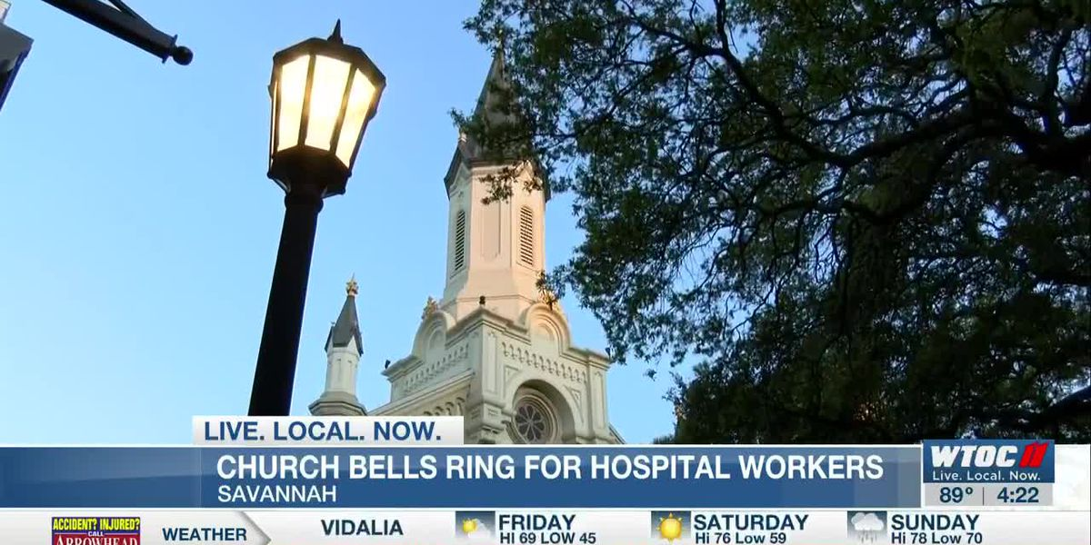 Savannah church rings bells in support of those fighting COVID-19 pandemic