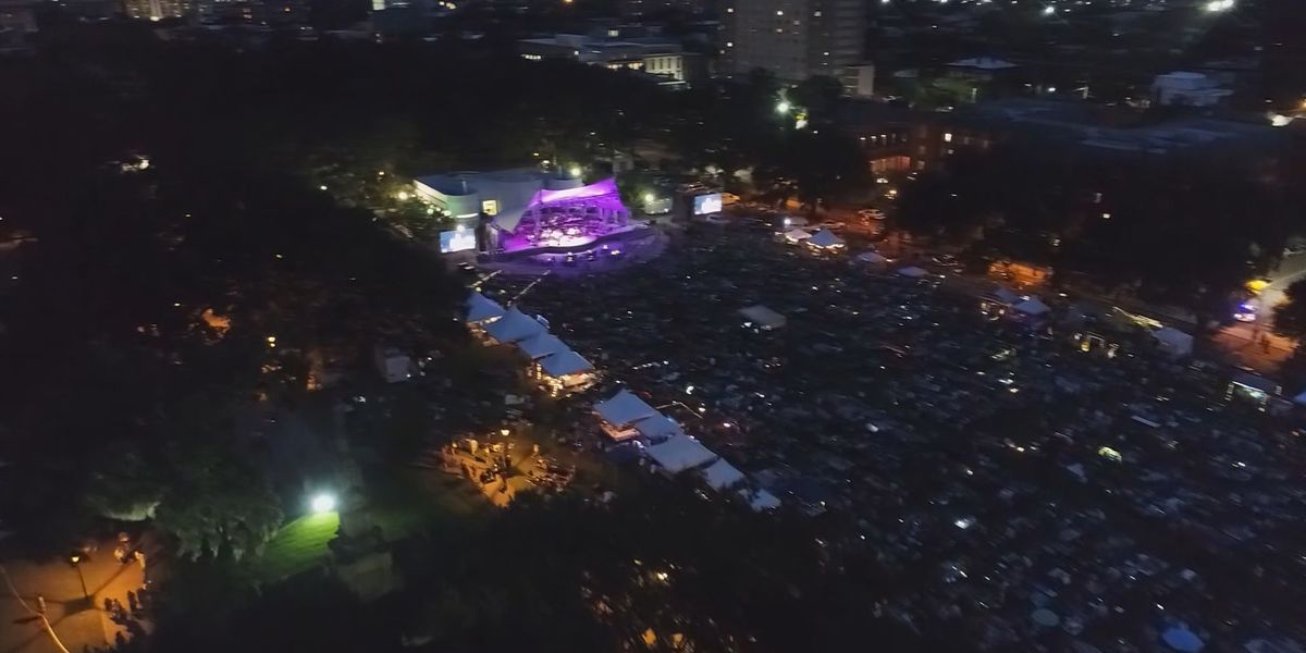 Yoga, charity walk and picnics in Forsyth Park this weekend