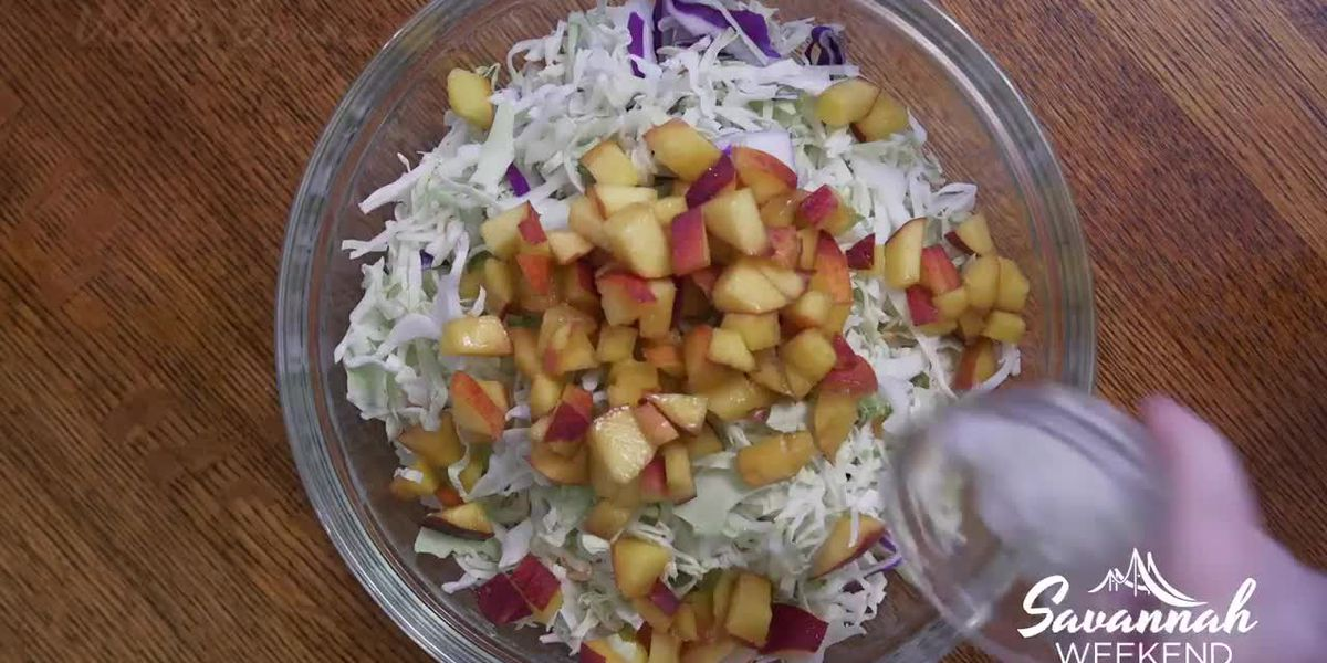 Ga. peaches go well in anything — even in Cole Slaw