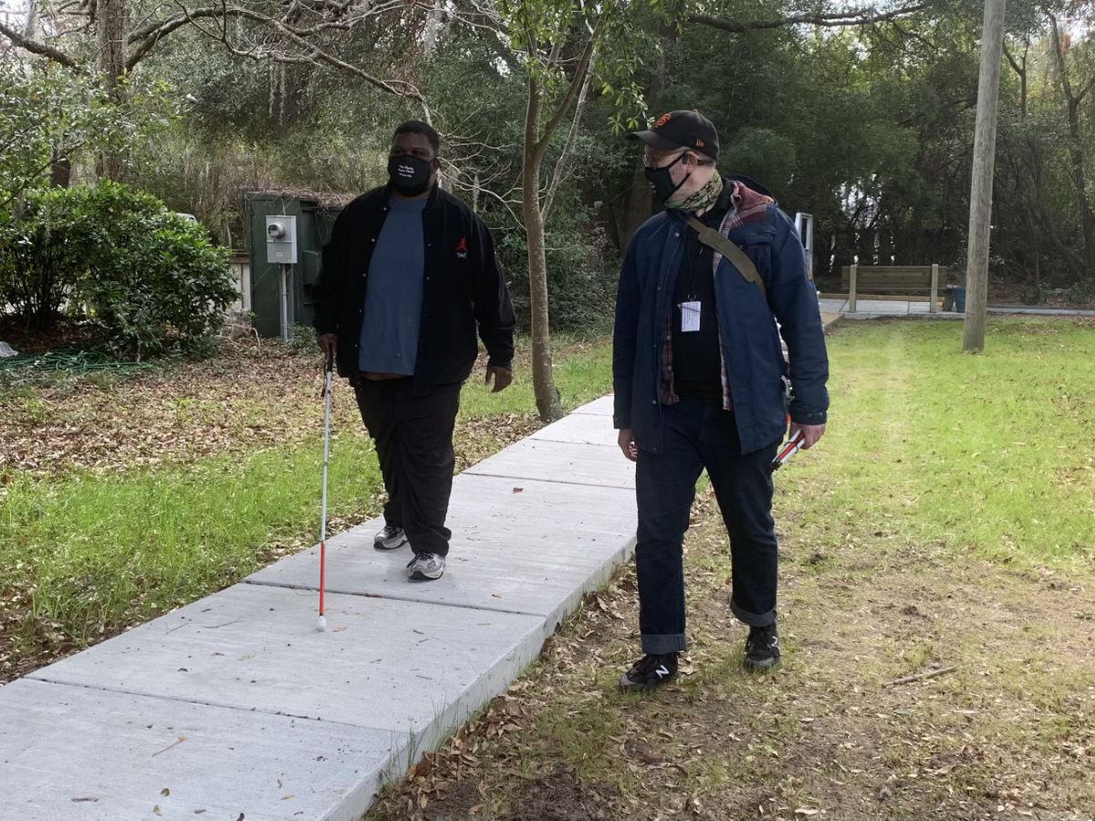 Savannah Center for Blind and Low Vision helps students navigate through the darkness