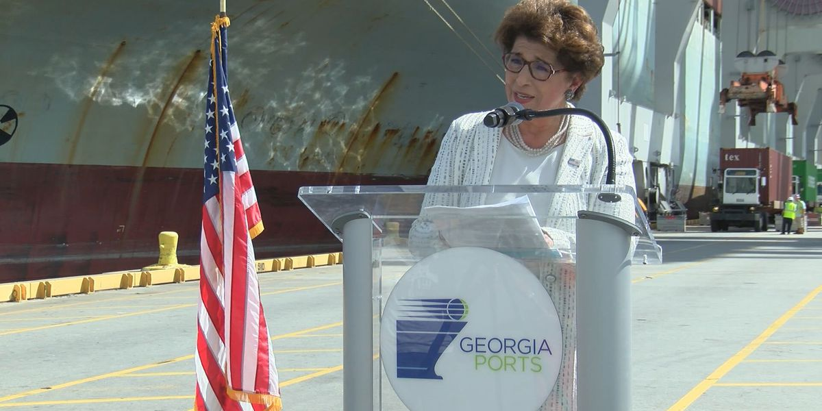 SBA administrator tours the port, small businesses in Savannah