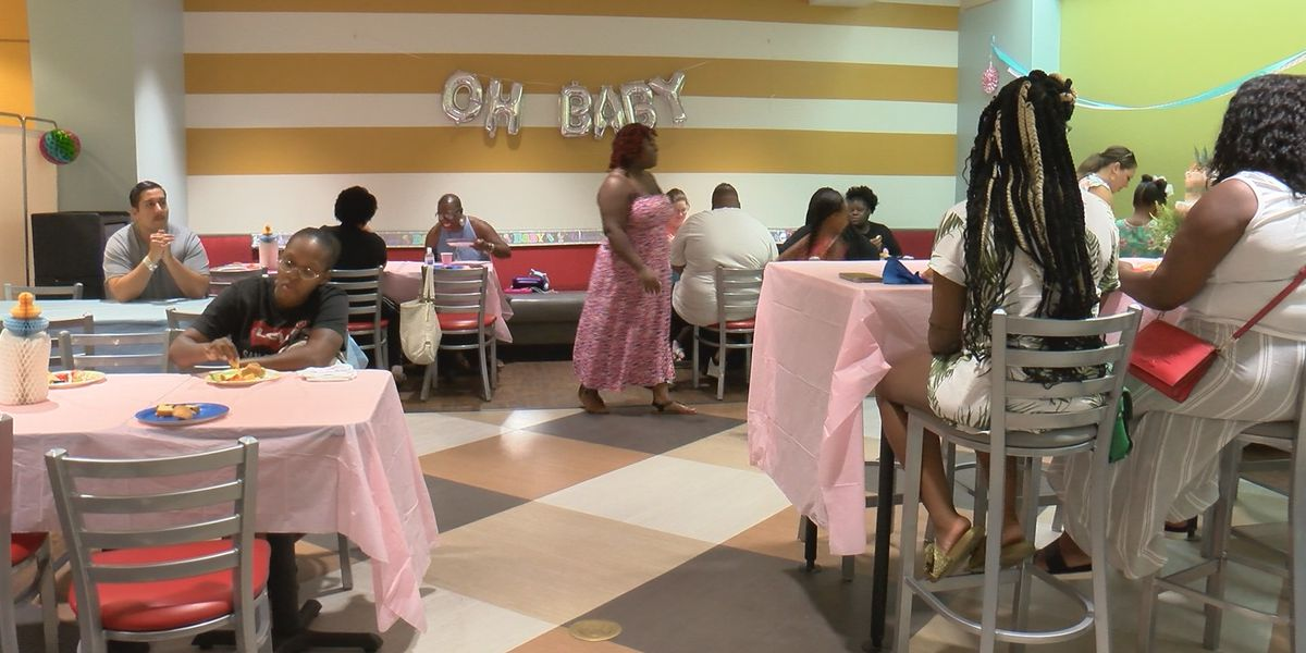 Memorial Health throws baby shower for neonatal mothers