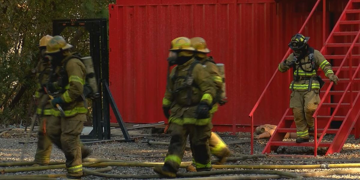 Richmond Hill Fire Department trains with Chatham Fire and Emergency Services