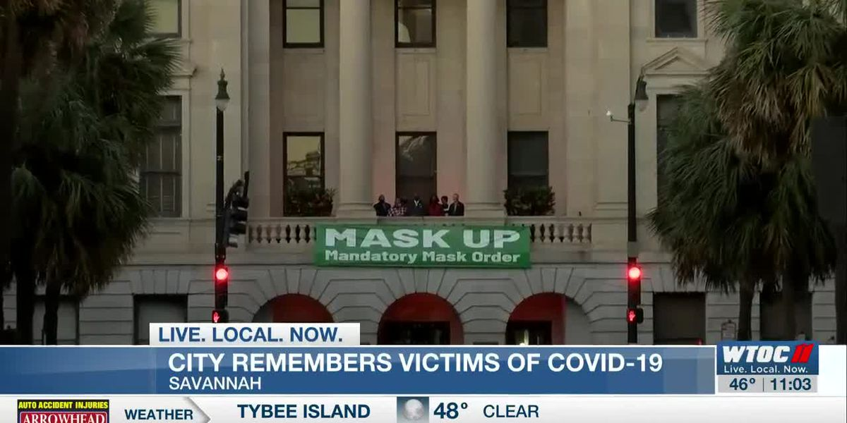 Savannah participating in national memorial for COVID-19 victims
