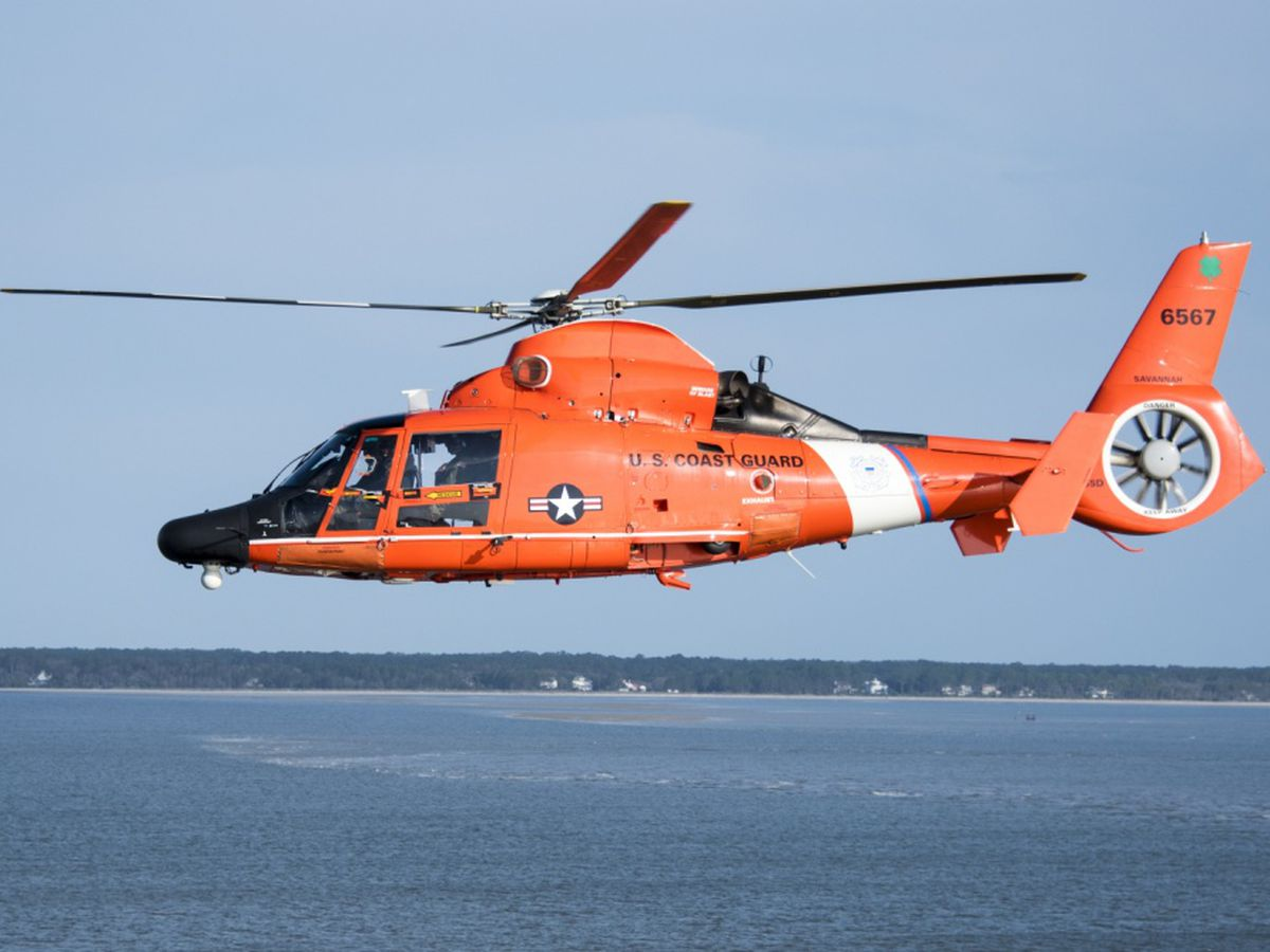 Coast Guard rescues kayakers stranded on Tybee Island area beach