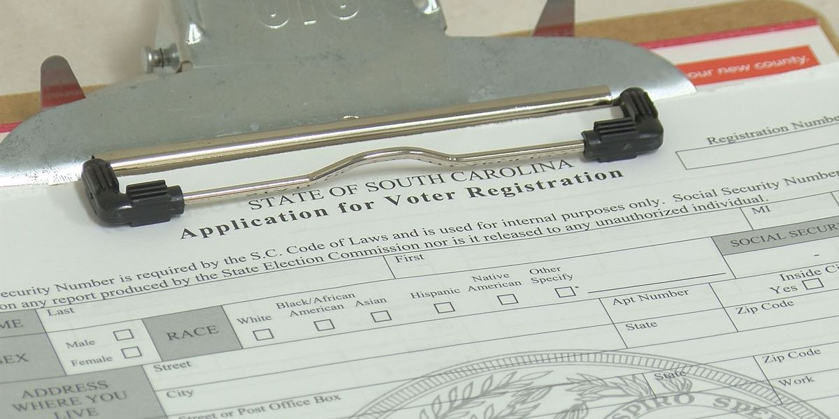 Deadline to register to vote in South Carolina primary is Jan. 30