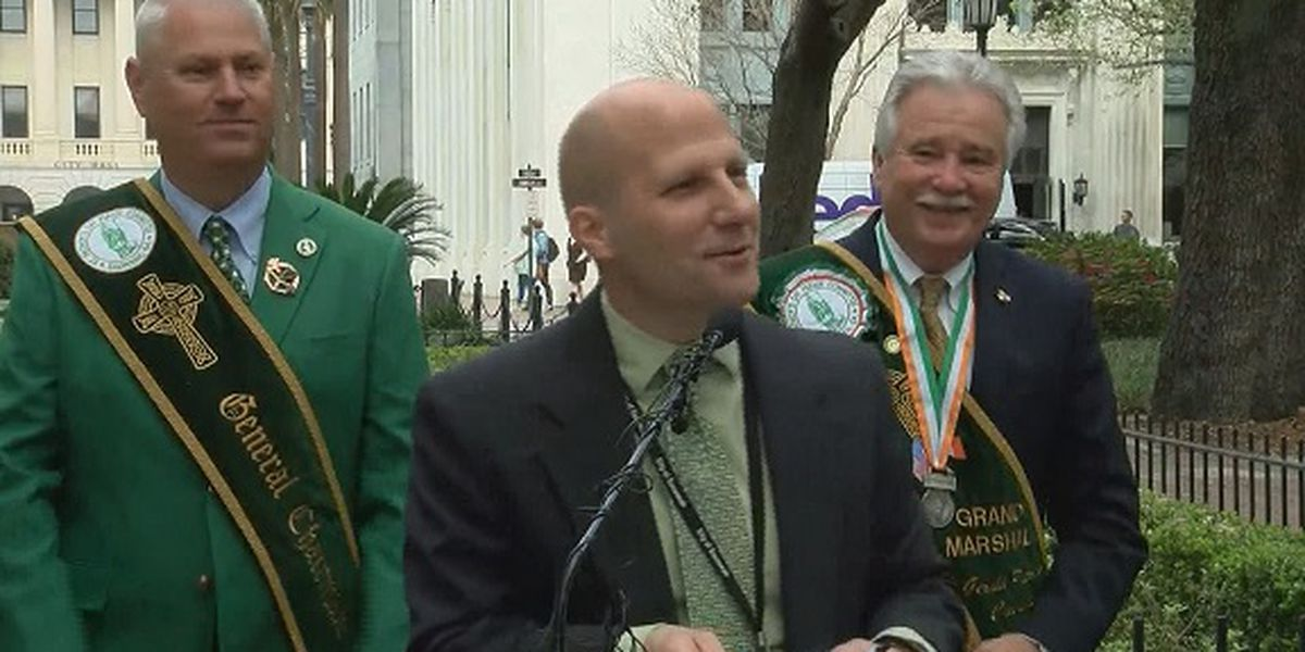 City of Savannah holds news conference ahead of St. Patrick's Day Parade/Festival