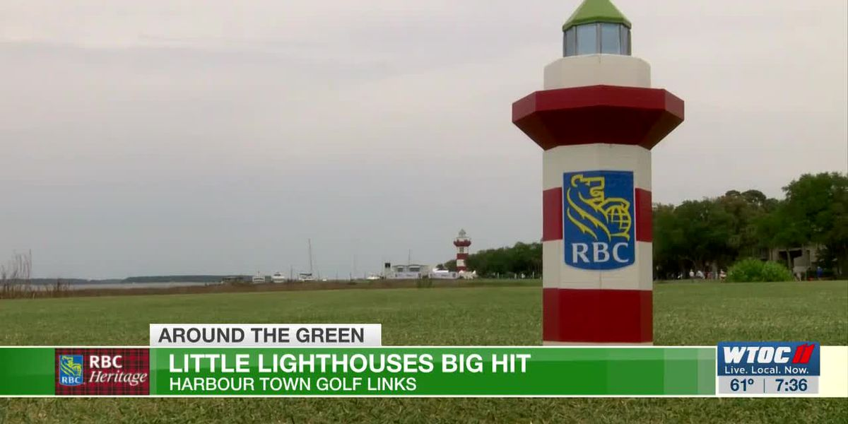 Tiny lighthouses a big hit at the RBC Heritage