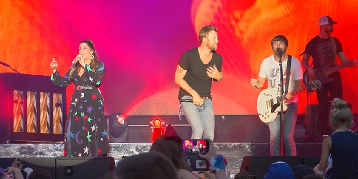 Fort Stewart celebrates Fourth of July with Lady Antebellum, fireworks show