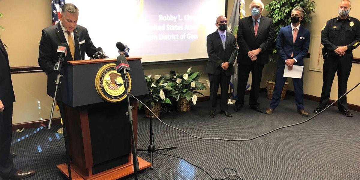 DOJ announces major gang-related drug trafficking indictments in Ga.