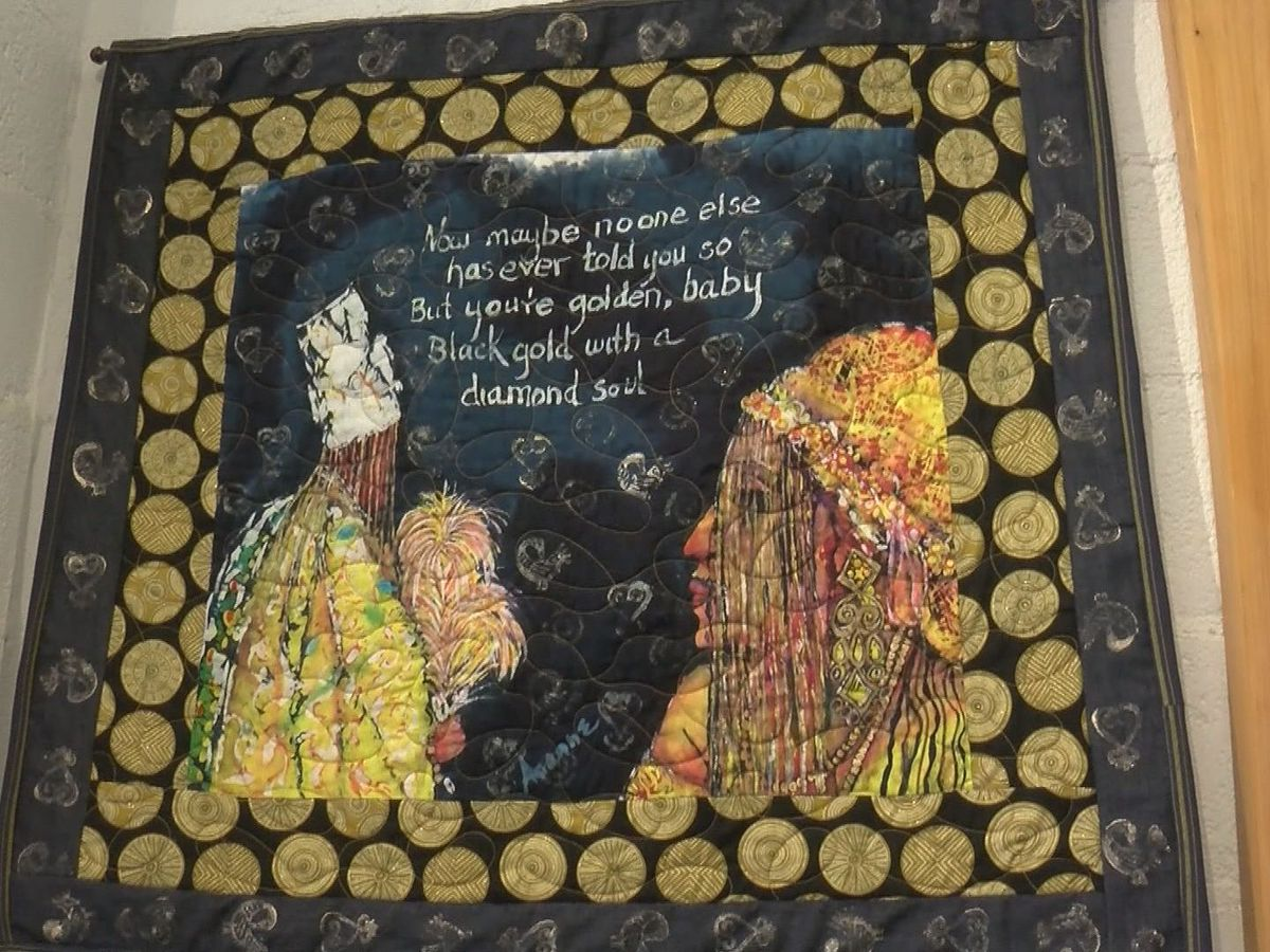 Art Quilts, Not Bed Quilts: Fiber Art