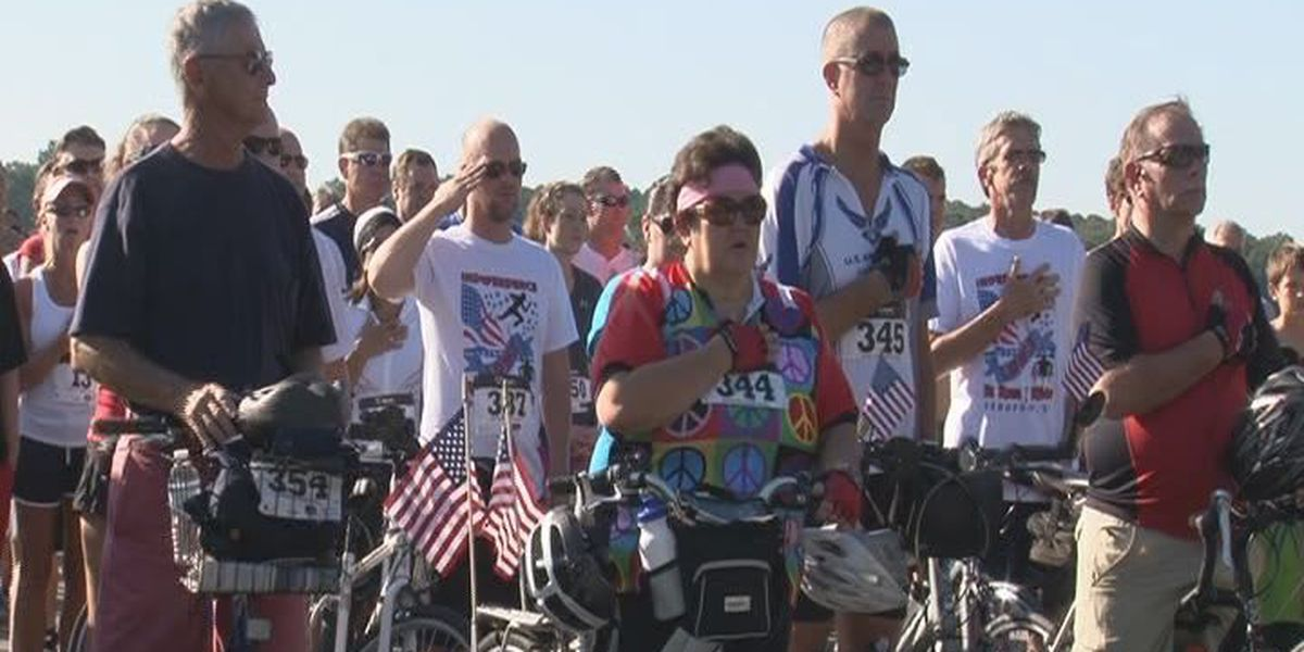 Hundreds gather for Lt. Dan Independence 5K Run and Ride