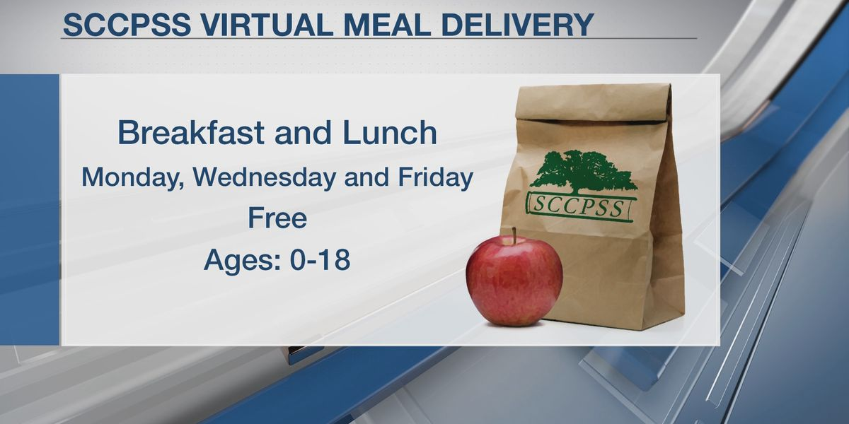 SCCPSS waiver provides meals at no charge