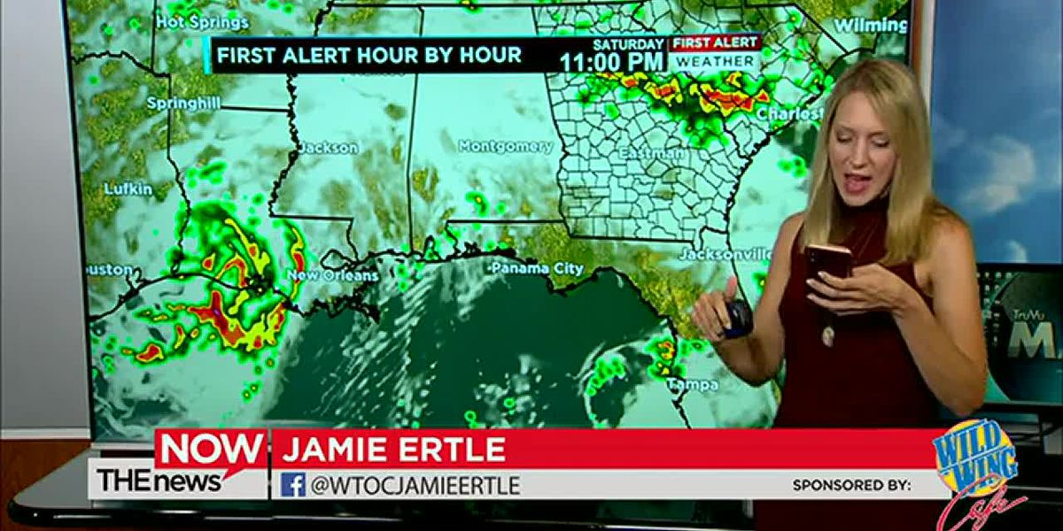Outdoor plans this weekend? Jamie Ertle's got a look at rain chances on The News Now.