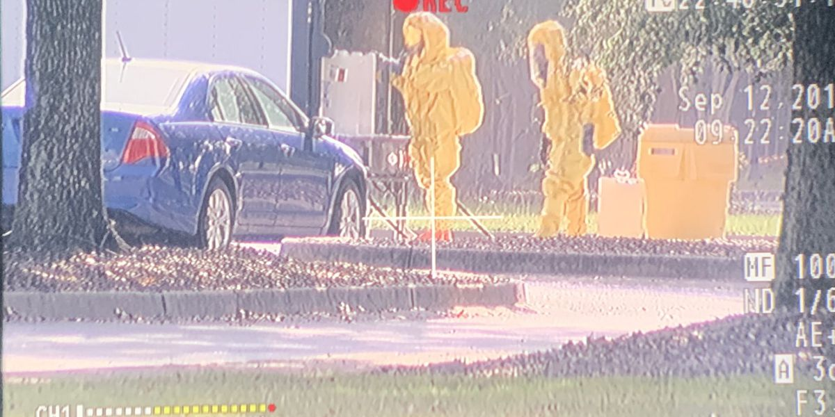 Chemical spill contained in RAC parking lot on GS's Statesboro campus