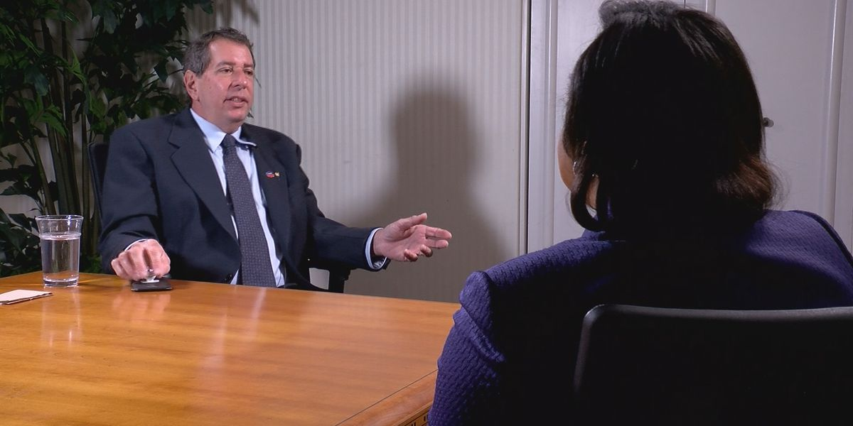 WTOC sits down for one-on-one with Ted Metz