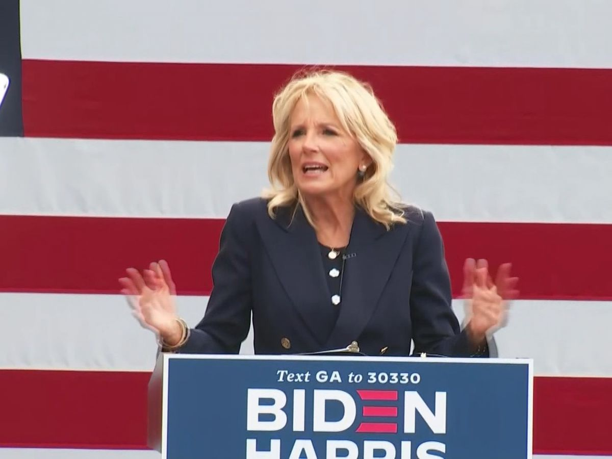 Dr. Jill Biden makes campaign stop in Savannah