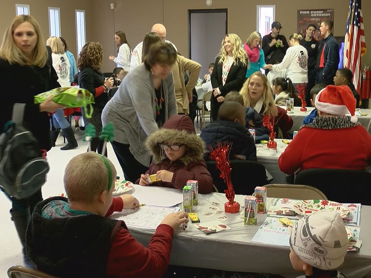 Richmond Hill Fire Department helps local families, kids with Operation Christams