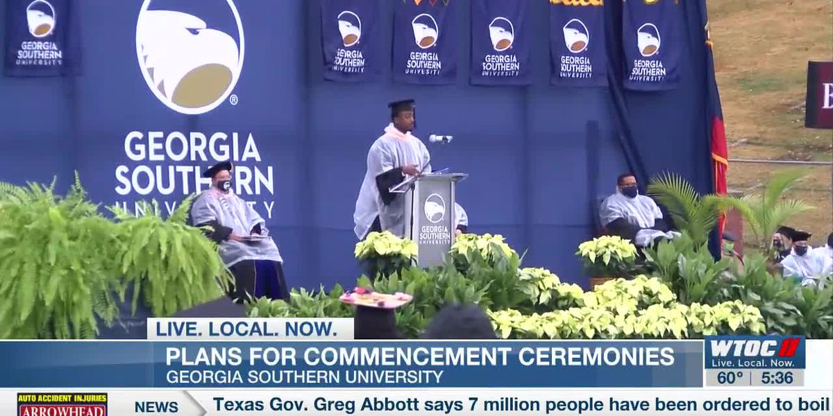 GSU releases details on in-person spring commencement ceremony