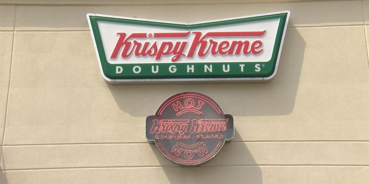 Krispy Kreme is giving away free doughnuts for 5 days in June