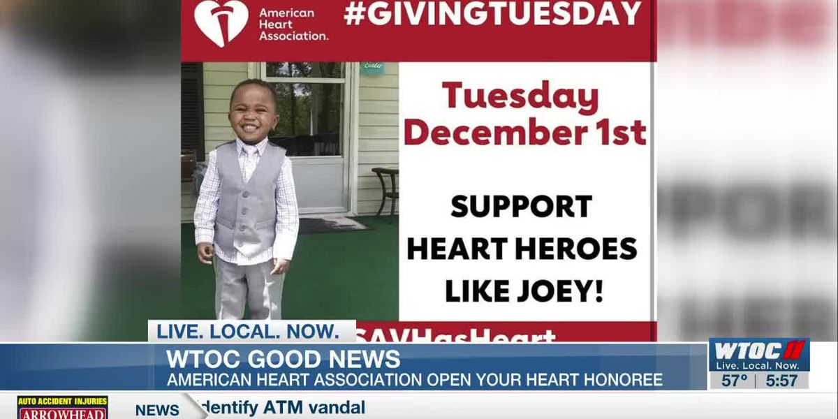 Good News: Open Your Heart honoree