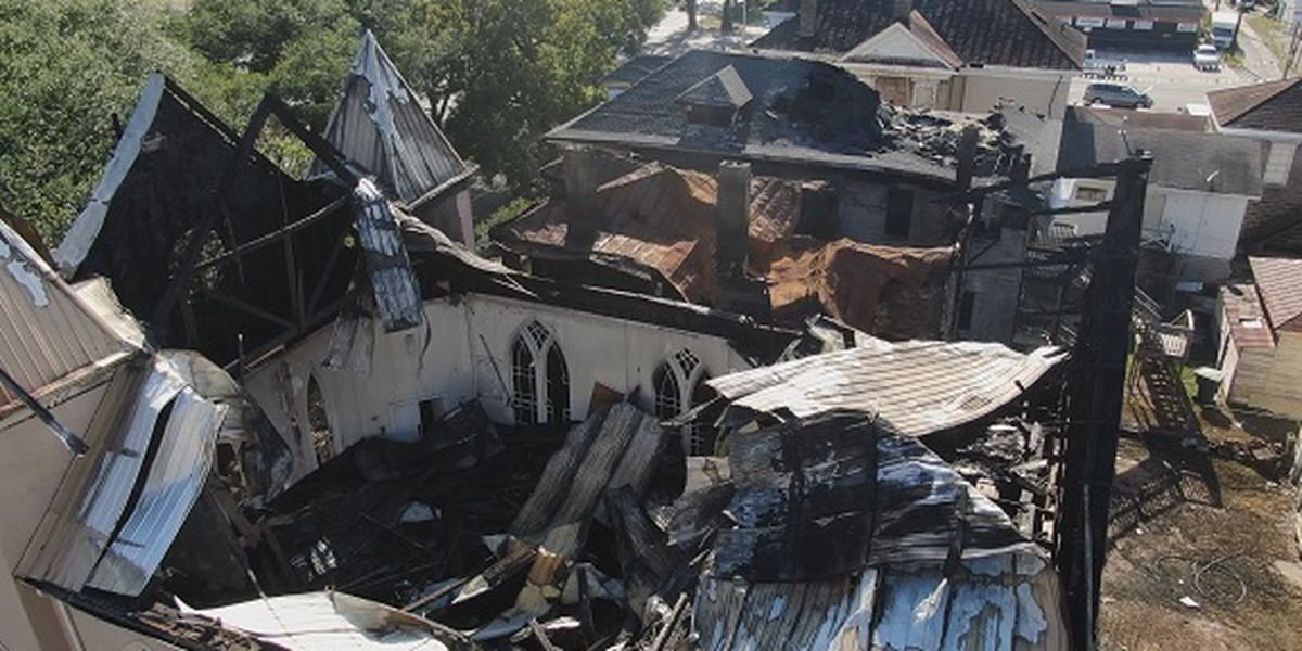 Savannah church damaged in fire scheduled to be demolished Friday