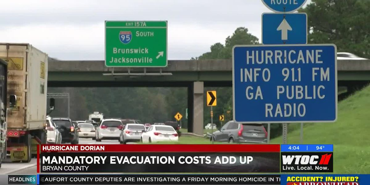 Evacuation costs rack up in Bryan County