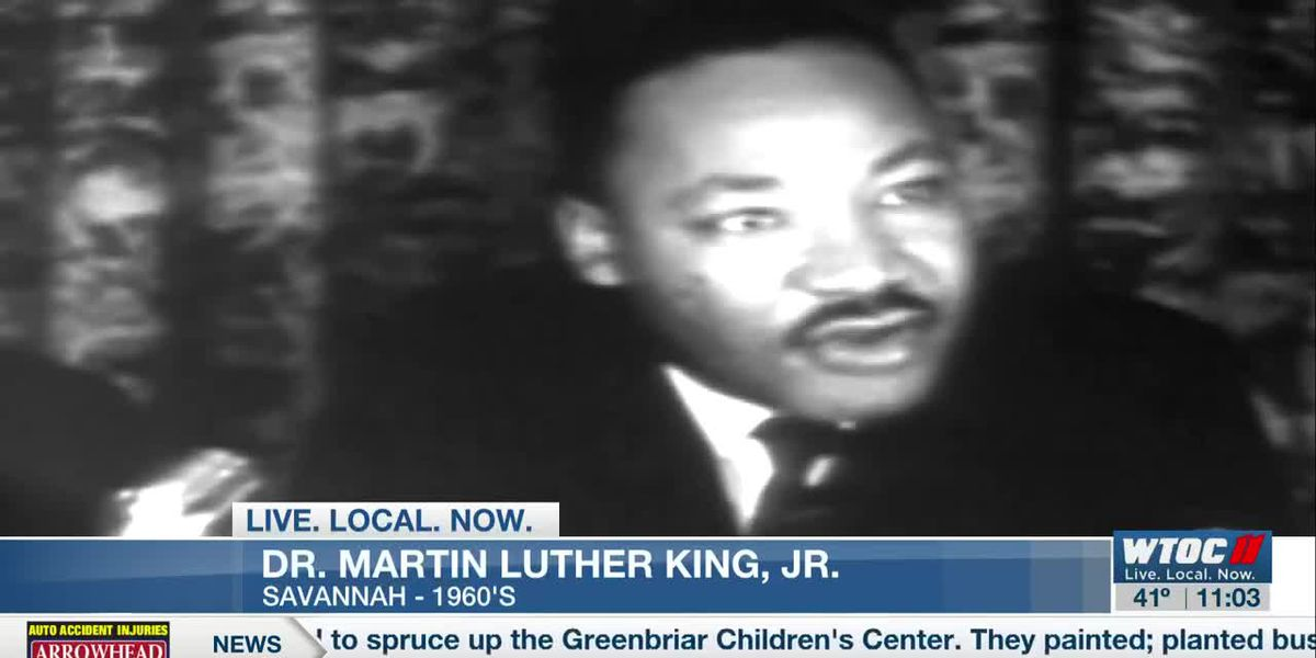 Rev. Hosea Williams helped bring Dr. Martin Luther King Jr. to Savannah during the civil rights movement