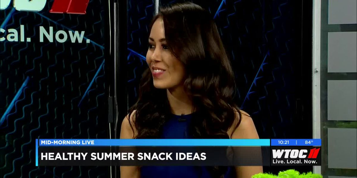 Mia Syn talks nutrition and how to snack right this summer.