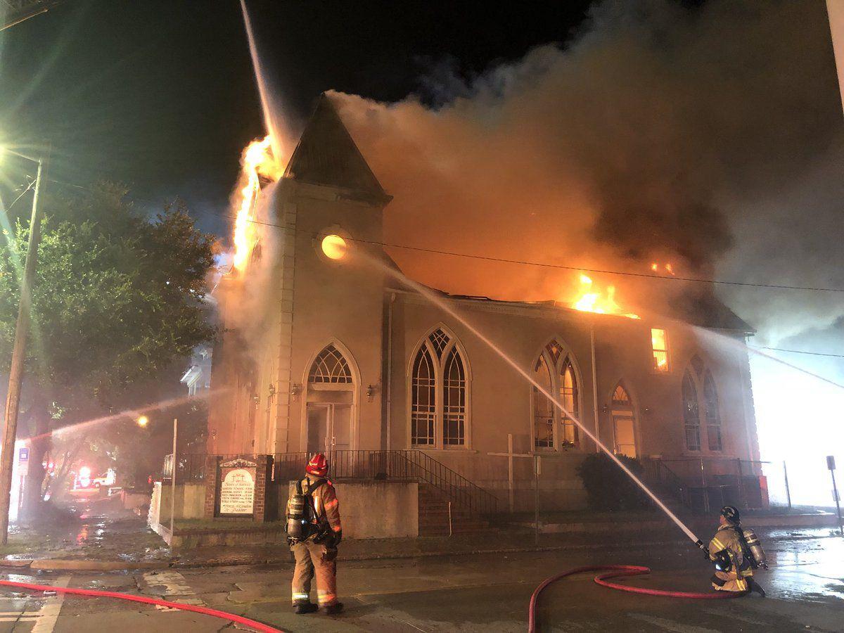 2 homes, church damaged by fire on W. 37th Street in Savannah