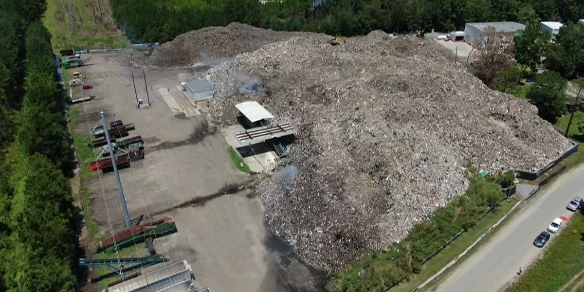 Enormous trash pile cleared in Jasper County