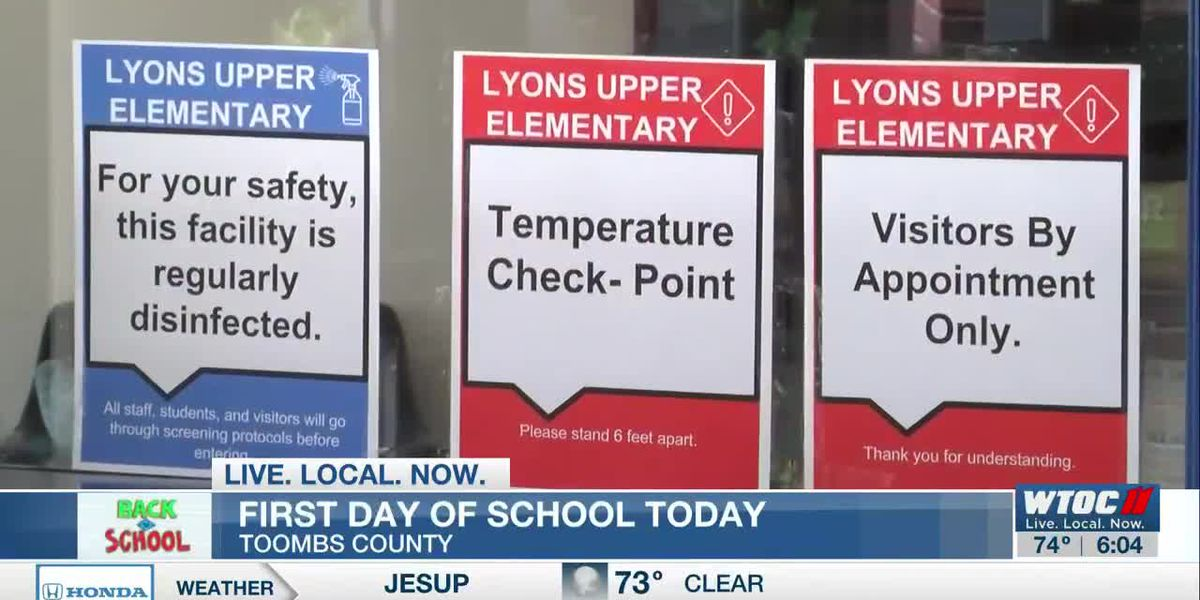 Toombs County Schools start the new school year Friday