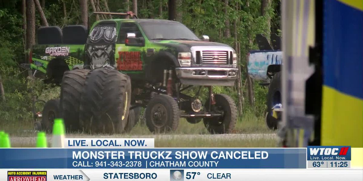 Monster Truckz show canceled at the last minute due to missing permit