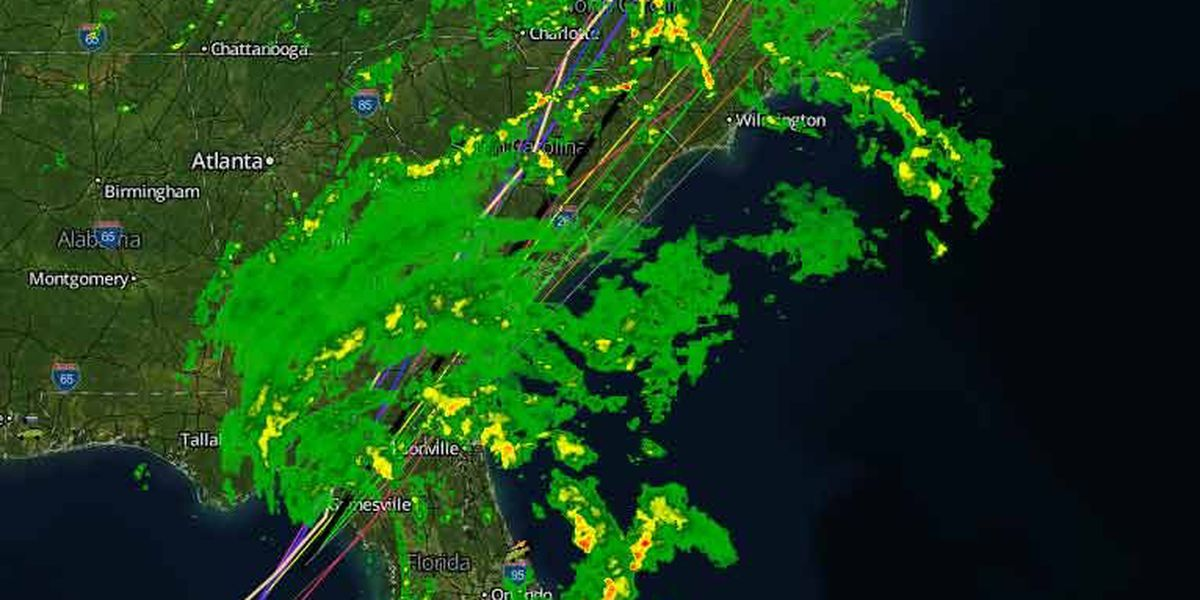 Tropical Storm Andrea makes landfall in Florida