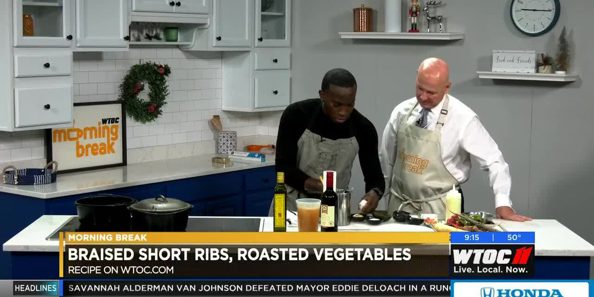 Southern Cross Hospitality Cooking Demo: Burgundy-Braised Short Ribs
