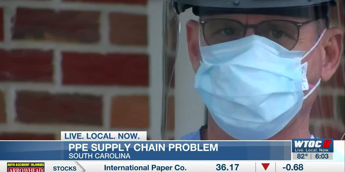 Lowcountry hospital dealing with PPE supply chain issue
