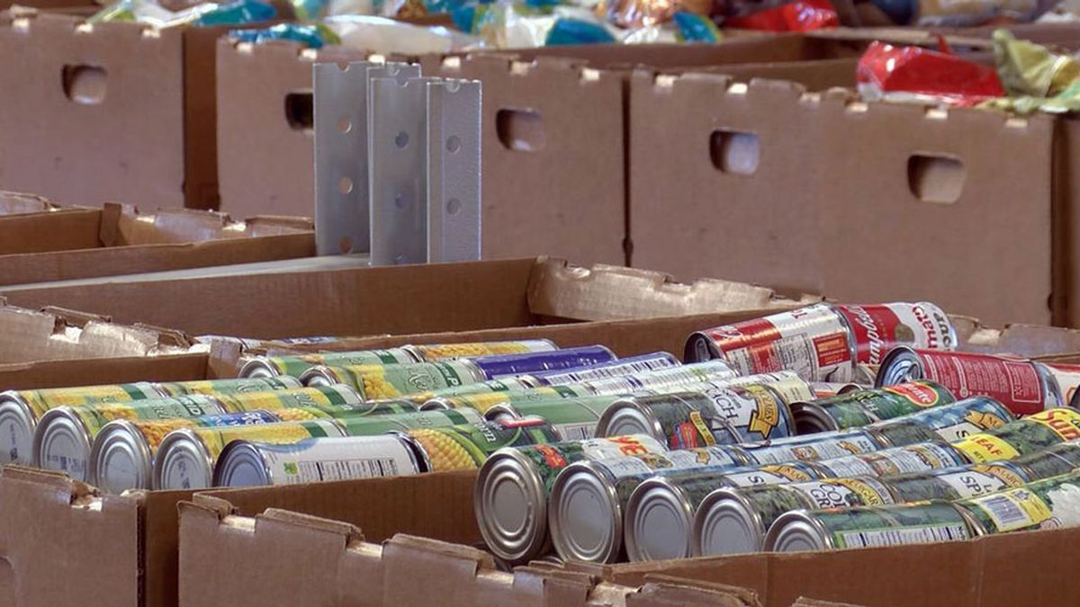 Second Harvest holding Drive Thru Food Distribution for low-income families